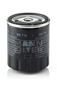 Фильтр топливный Mann-Filter WK716 manfred mann s earth band manfred mann s earth band watch lp