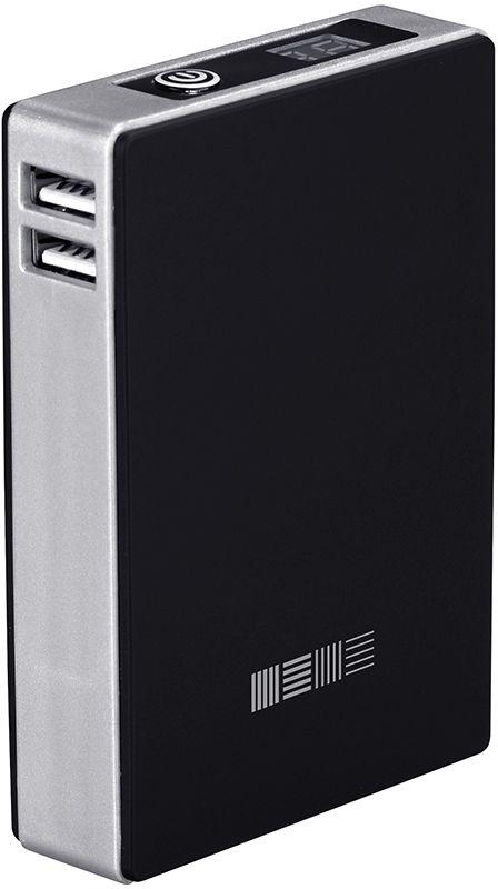 Внешний аккумулятор Interstep PB120002U, 12000 мАч, black цена и фото
