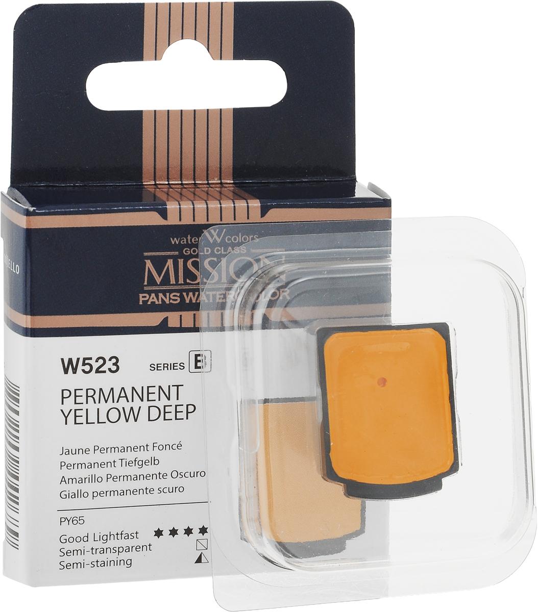 Фото - Mijello Акварель Mission Gold Pan W523 Желтый темный перманентный 2 мл MPW-W523 блок питания accord atx 1000w gold acc 1000w 80g 80 gold 24 8 4 4pin apfc 140mm fan 7xsata rtl