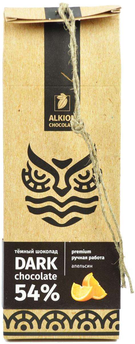 Alkion шоколад темный с кусочками апельсина, 100 г силовой модуль scher khan mobicar m1