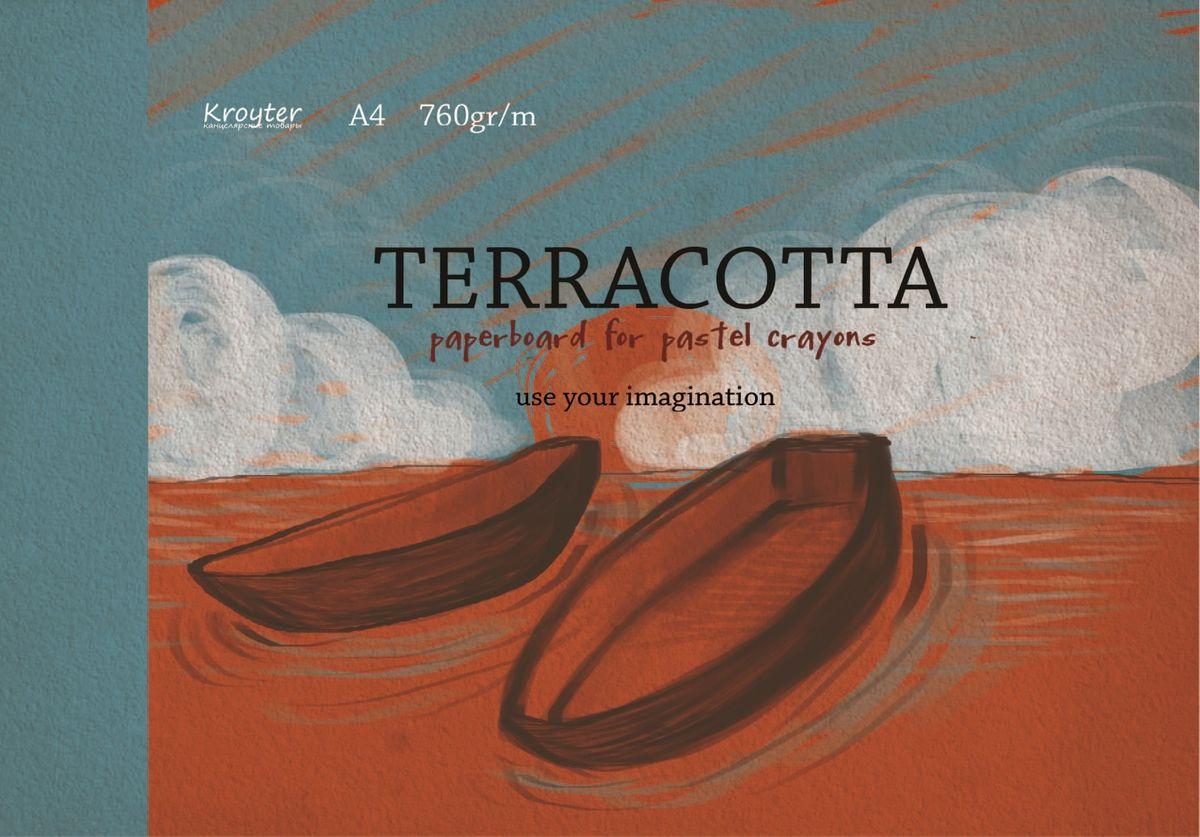 Kroyter Альбом для рисования пастелью цвет терракотовый 10 листов kroyter альбом для рисования пастелью цвет терракотовый 10 листов
