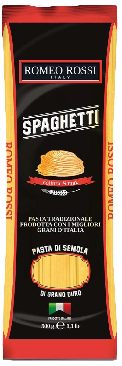 Romeo Rossi паста сицилийская из муки твердых сортов спагетти, 500 г
