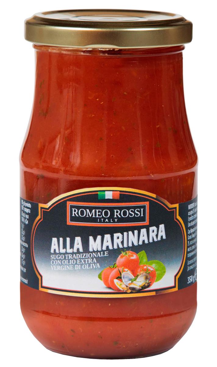 Romeo Rossi соус томатный для пасты Маринара без чеснока, 350 г romeo rossi соус томатный для пасты овощной 350 г