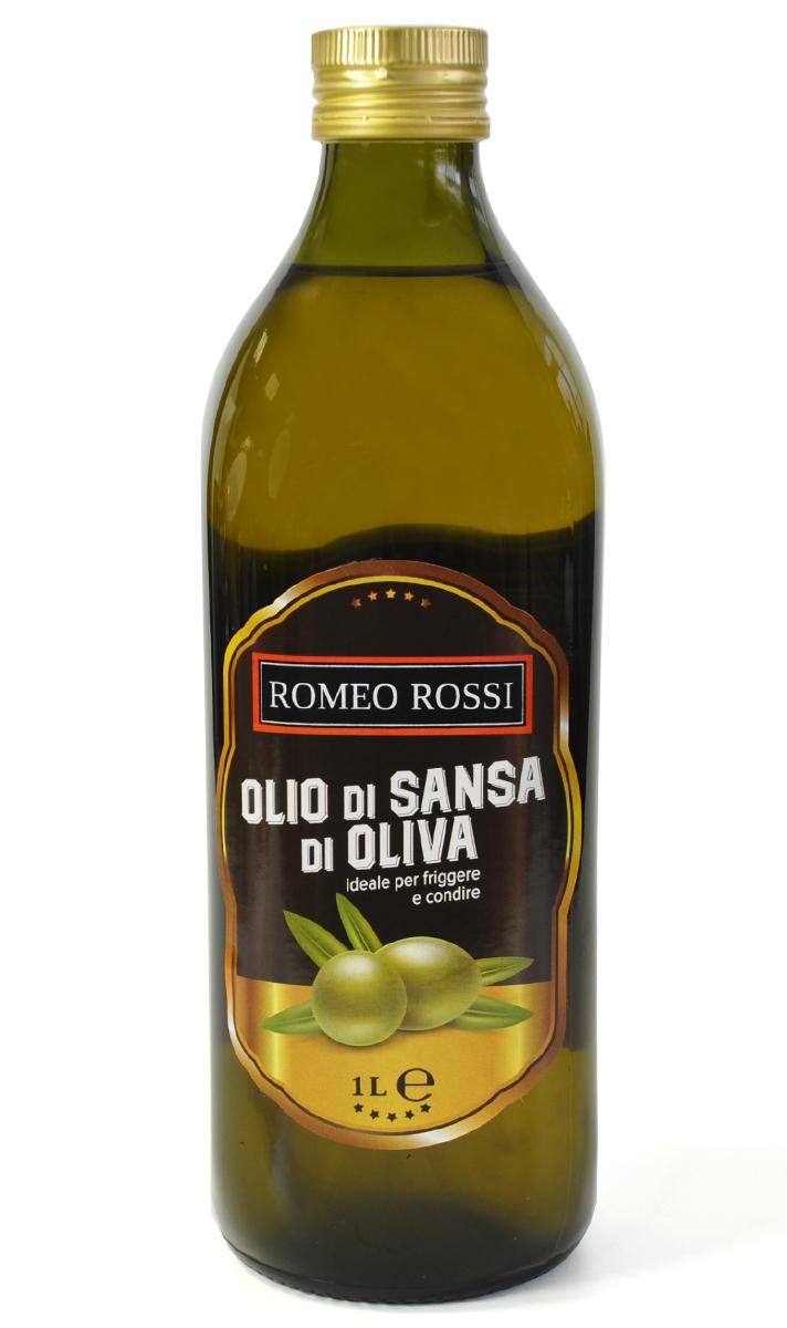 Romeo Rossi масло оливковое для жарки Sansa, 1 л оливковое масло ranieri sansa рафинированное в жестяной банке 5 л италия