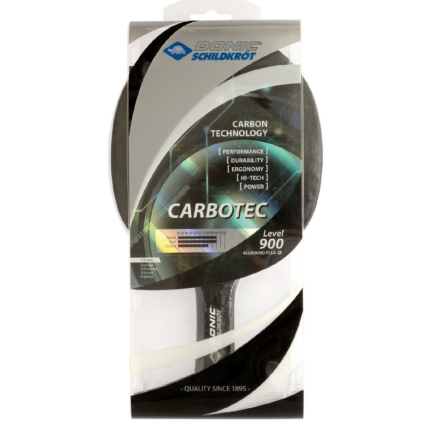 Ракетка для настольного тенниса Donic Carbotec 900 758212 ракетка для настольного тенниса donic testra pro