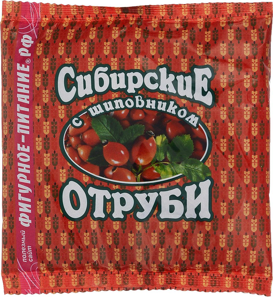 Сибирские отруби пшеничные с шиповником, 200 г