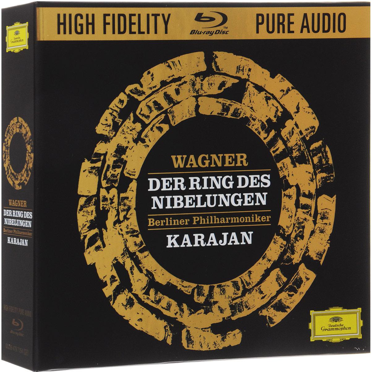 Berliner Philharmoniker Herbert Von Karajan. Wagner. Der Ring Des Nibelungen. Limited Edition (Blu-Ray Audio) herbert meussling der schiffsinnenausbau 1957