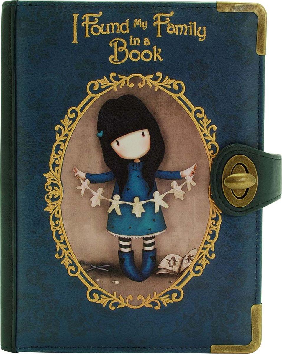 Клатч для девочки Santoro Family in a Book, цвет: синий. 0012750 santoro london блокнот we can all shine 300 листов