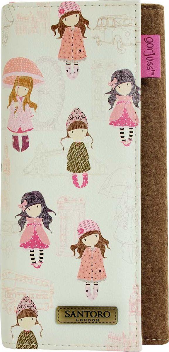 Кошелек для девочки Santoro London, цвет: розовый. 0012766 сумка для девочки santoro toadstools цвет синий 0012417