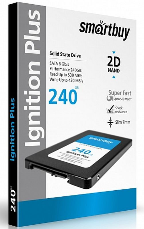 Smartbuy Ignition Plus 240GB SSD-накопитель (SB240GB-IGNP-25SAT3)