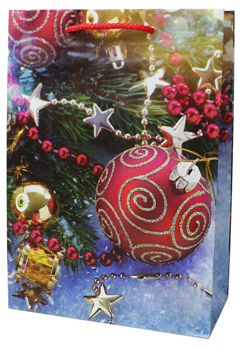 Пакет подарочный Мегамаг, ламинированный, 22 х 31 х 10 см . 7110 ML пакет подарочный цветочная симфония 31 х 22 х 9 см букет роз