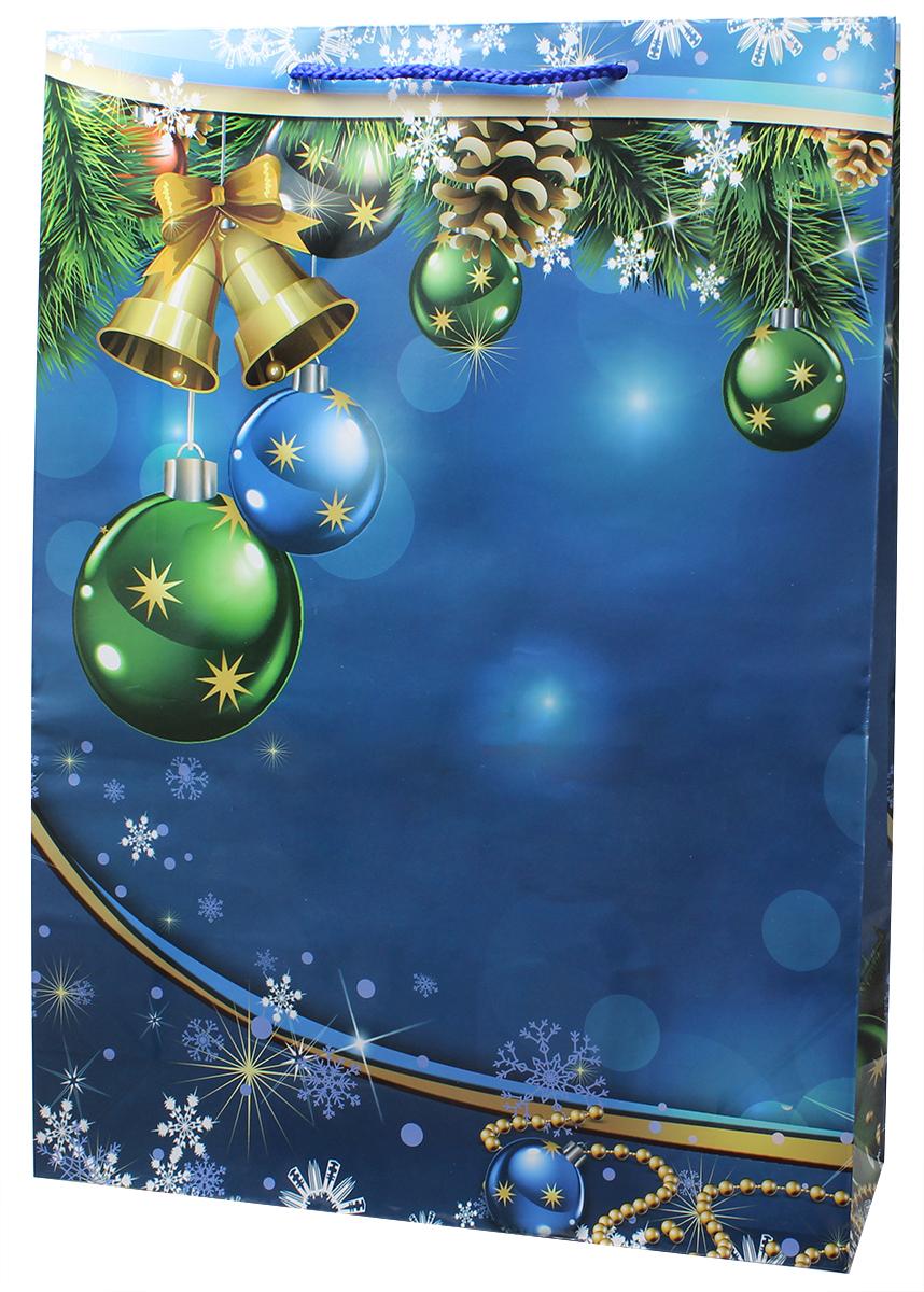 Пакет подарочный Мегамаг, ламинированный, 32,4 х 44,5 х 10,2 см. 5106 XL пакет подарочный winter wings бумажный ламинированный люкс 32х26х12 см