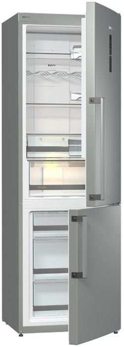 лучшая цена Двухкамерный холодильник Gorenje NRC 6192 TX