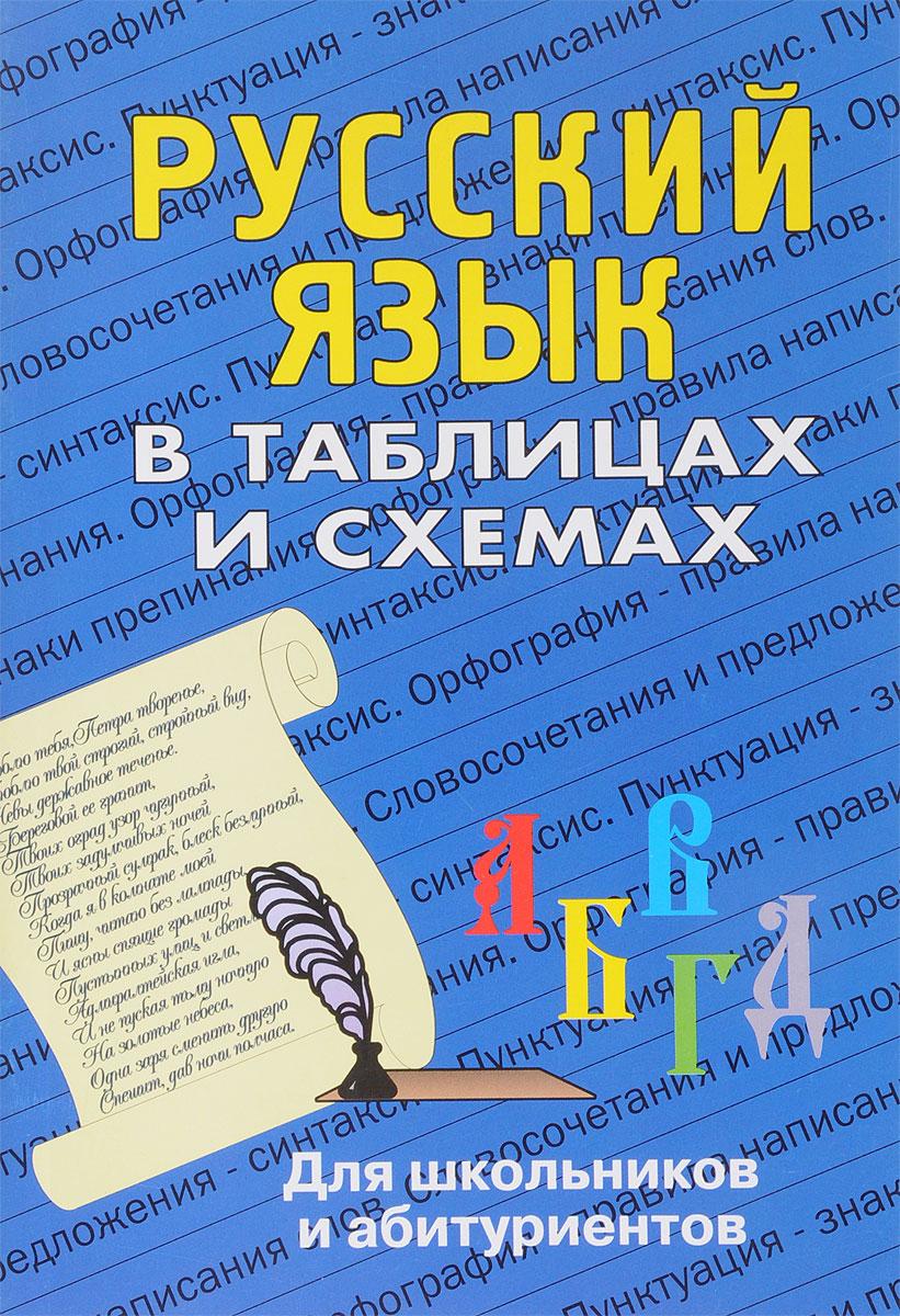 Русский язык в таблицах и схемах Данное пособие содержит таблицы...