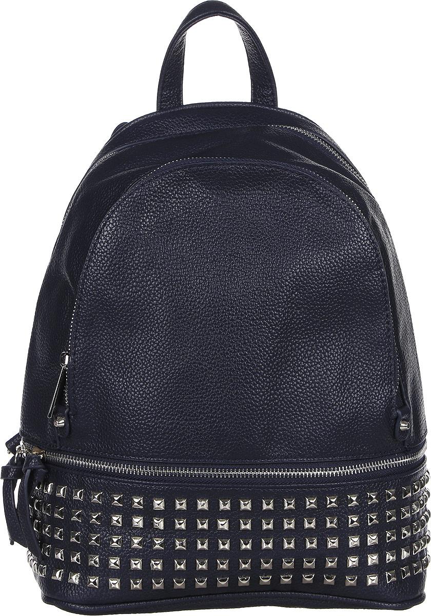 Рюкзак женский DDA, цвет: темно-синий. DDA LB-2054BU рюкзак мужской icepeak цвет темно синий 259515000iv