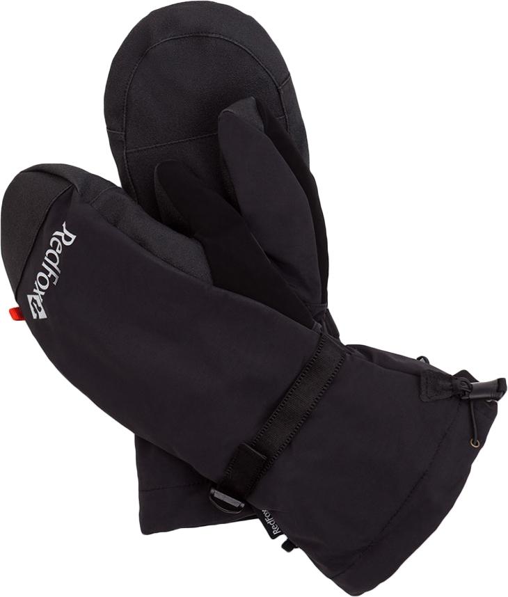 Варежки Red Fox, цвет: черный. 81-319-1000-L. Размер XL (26/28) цена