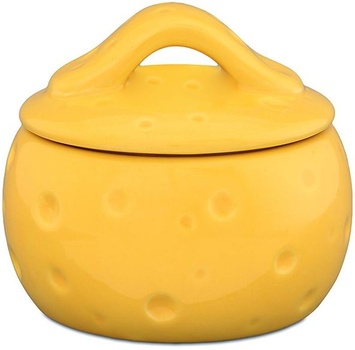 Банка для тертого сыра Elan Gallery Сыр, 10,5 х 10,5 х 9 см. 110853 блюдо для сыра elan gallery сыр 24 см