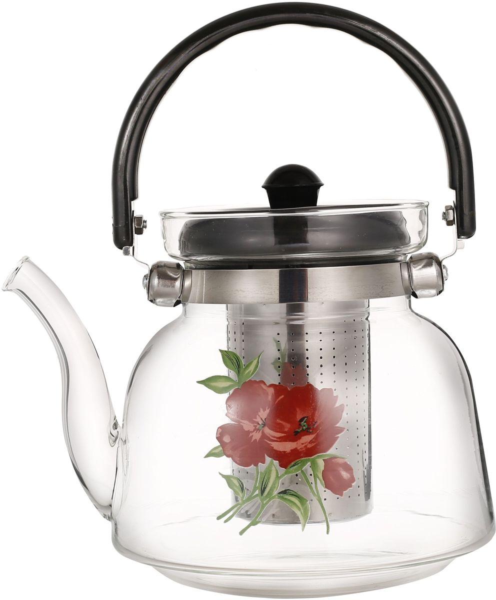 купить Чайник заварочный Bekker, с фильтром, 700 мл. BK-7634 дешево
