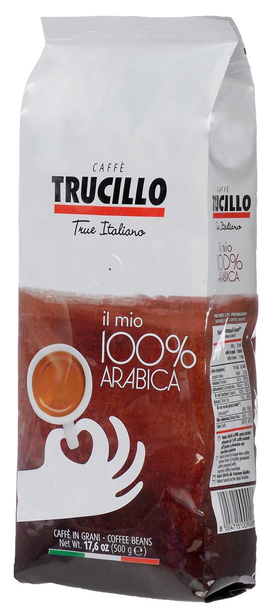 Кофе в зернах Trucillo Il Mio Arabica, 500 г il mio dante