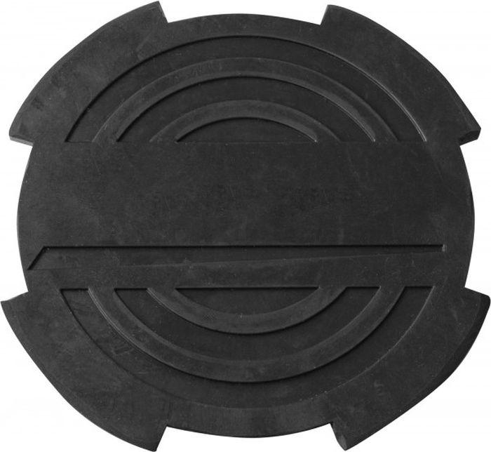 Опора резиновая Ombra, с отбортовкой, для подкатных домкратов, O-116 мм, Н-18 мм