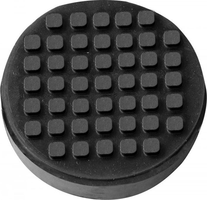 Опора резиновая Ombra, для малых подкатных домкратов, диаметр 52 мм, высота 32 мм