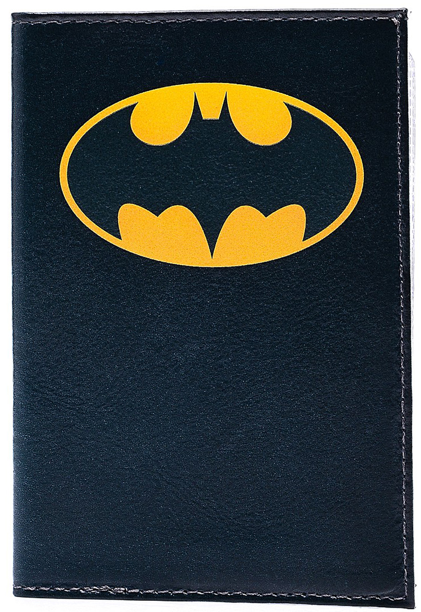 Обложка для автодокументов Бэтмен. AUTO145 обложка для автодокументов женская mitya veselkov щас спою цвет белый auto389