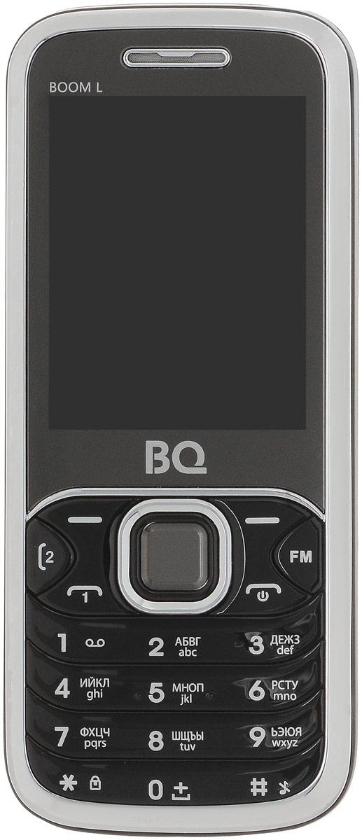 Мобильный телефон BQ 2427 Boom L, черный телефон мобильный bq boom l
