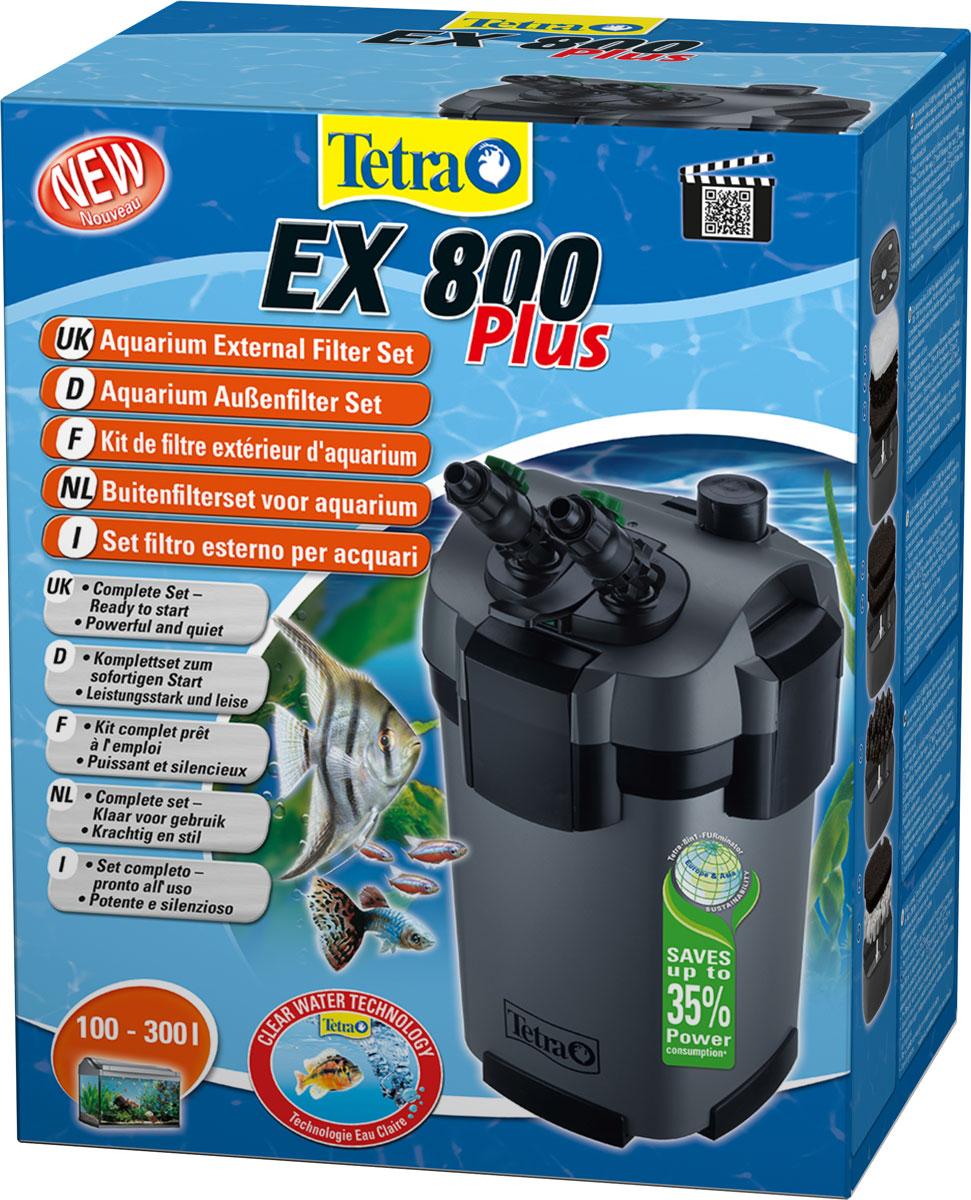Внешний фильтр Tetra EX 800 Plus, для аквариумов 100-300 л внешний фильтр для аквариума тетра 800
