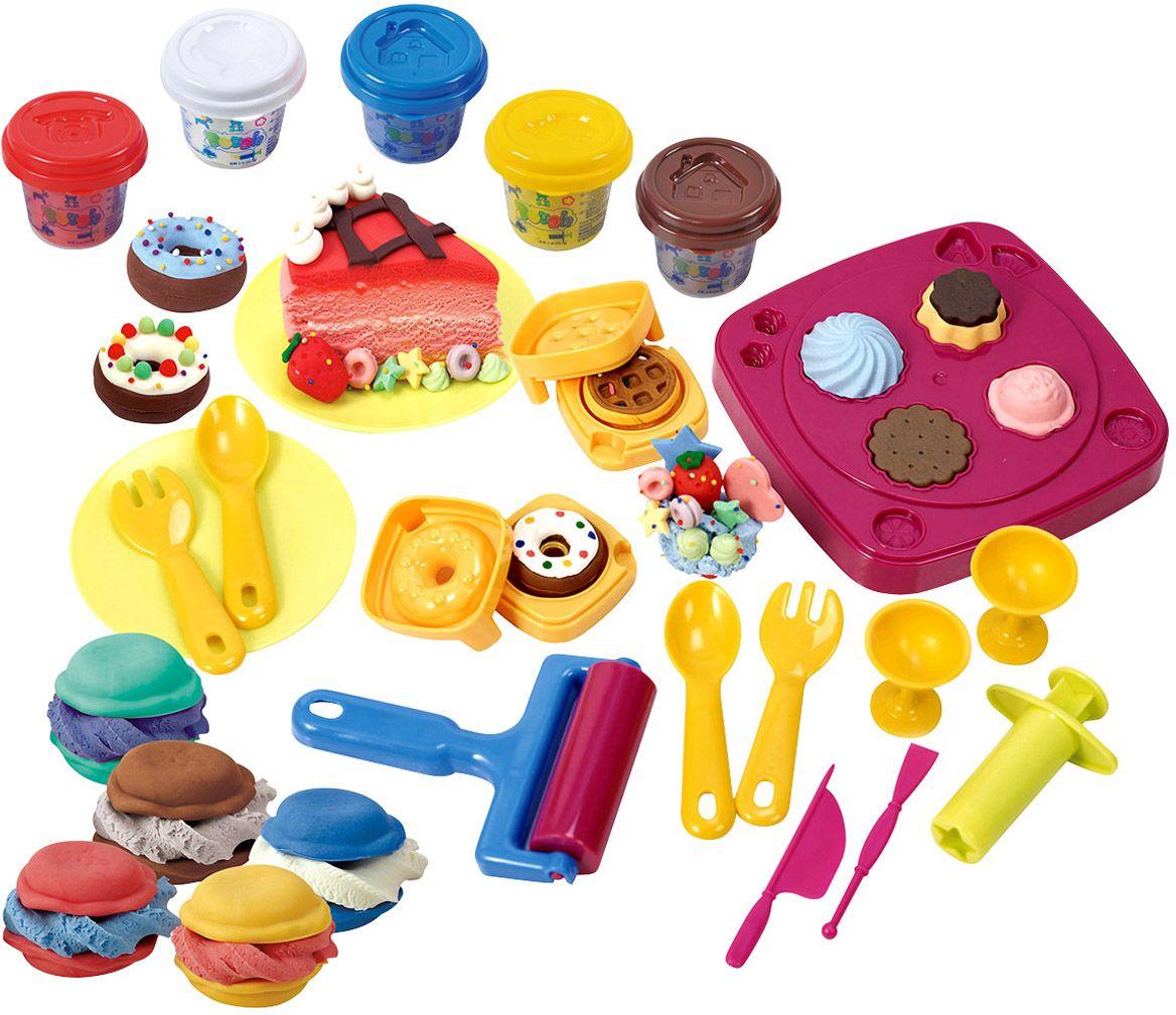 Playgo Набор для лепки Сладкая фабрика электрокофеварка playgo электрокофеварка play 3150