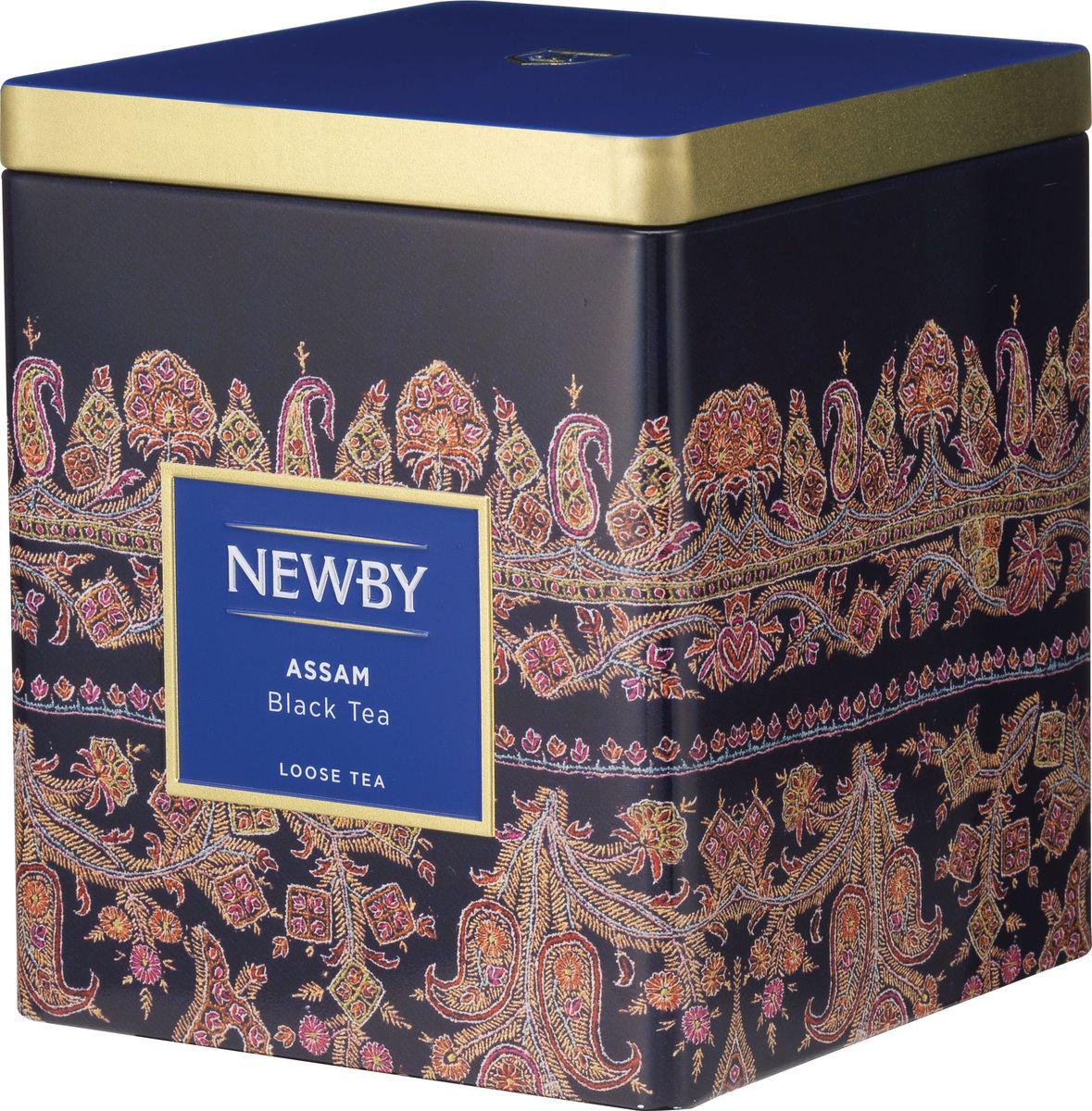 Newby Assam черный листовой чай, 125 г цена в Москве и Питере