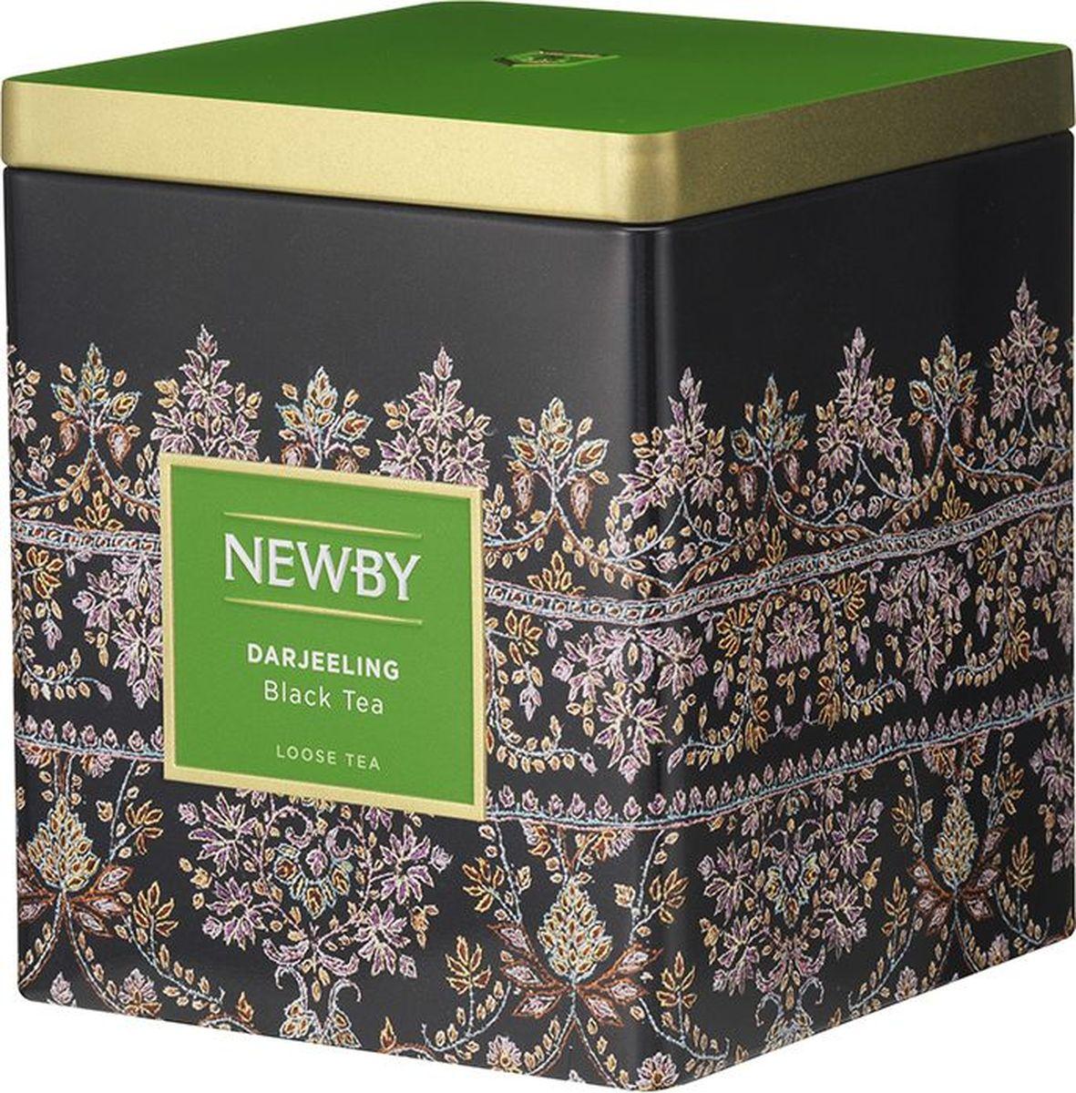 Newby Darjeeling черный листовой чай, 125 г цена в Москве и Питере