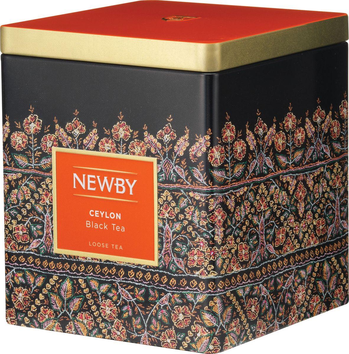 Newby Ceylon черный листовой чай, 125 г цена в Москве и Питере