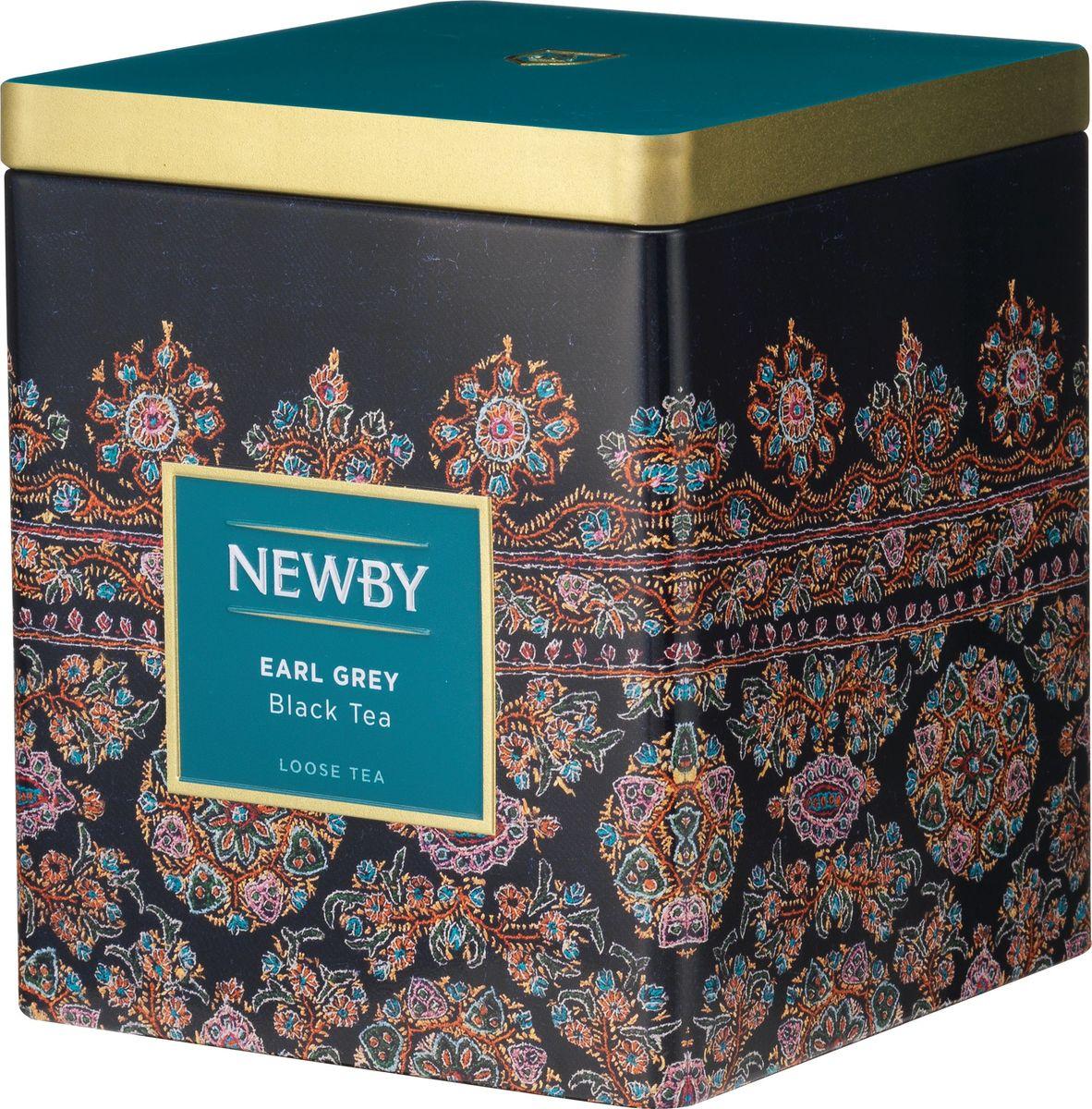 Newby Earl Grey черный листовой чай, 125 г jaf tea earl grey classic чай черный листовой с ароматом бергамота 100 г