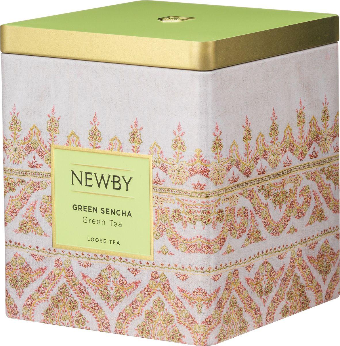 Newby Green Sencha зеленый листовой чай, 125 г цена в Москве и Питере