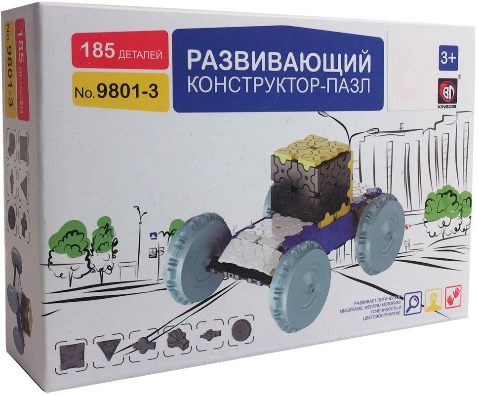 Пластиковый конструктор Умный Шмель 9801-3 умный шмель пластиковый конструктор мотоцикл