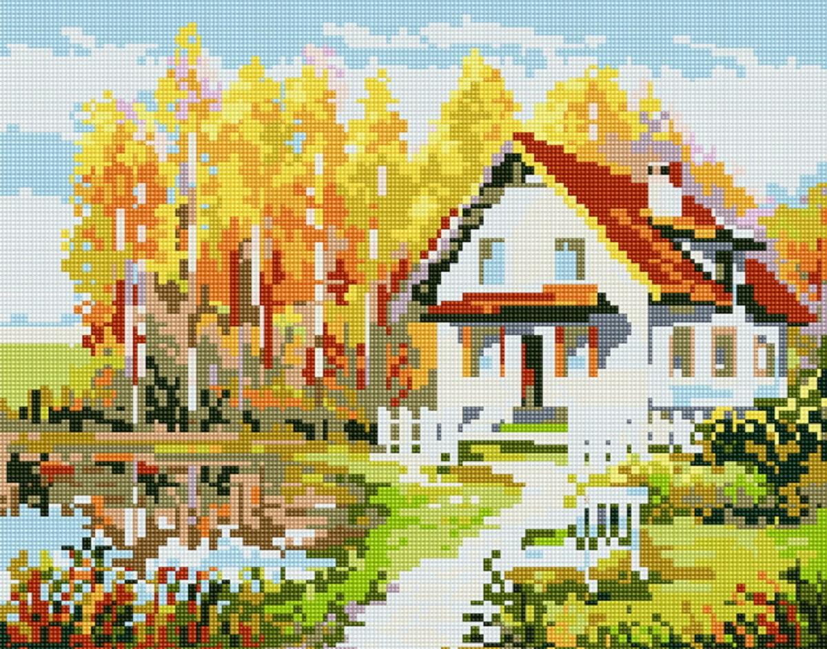 """Алмазная мозаика """"Рукоделие"""", 40 х 50 см. AZM4050/P-008"""