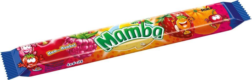 Mamba Жевательная конфета, 106 г цена