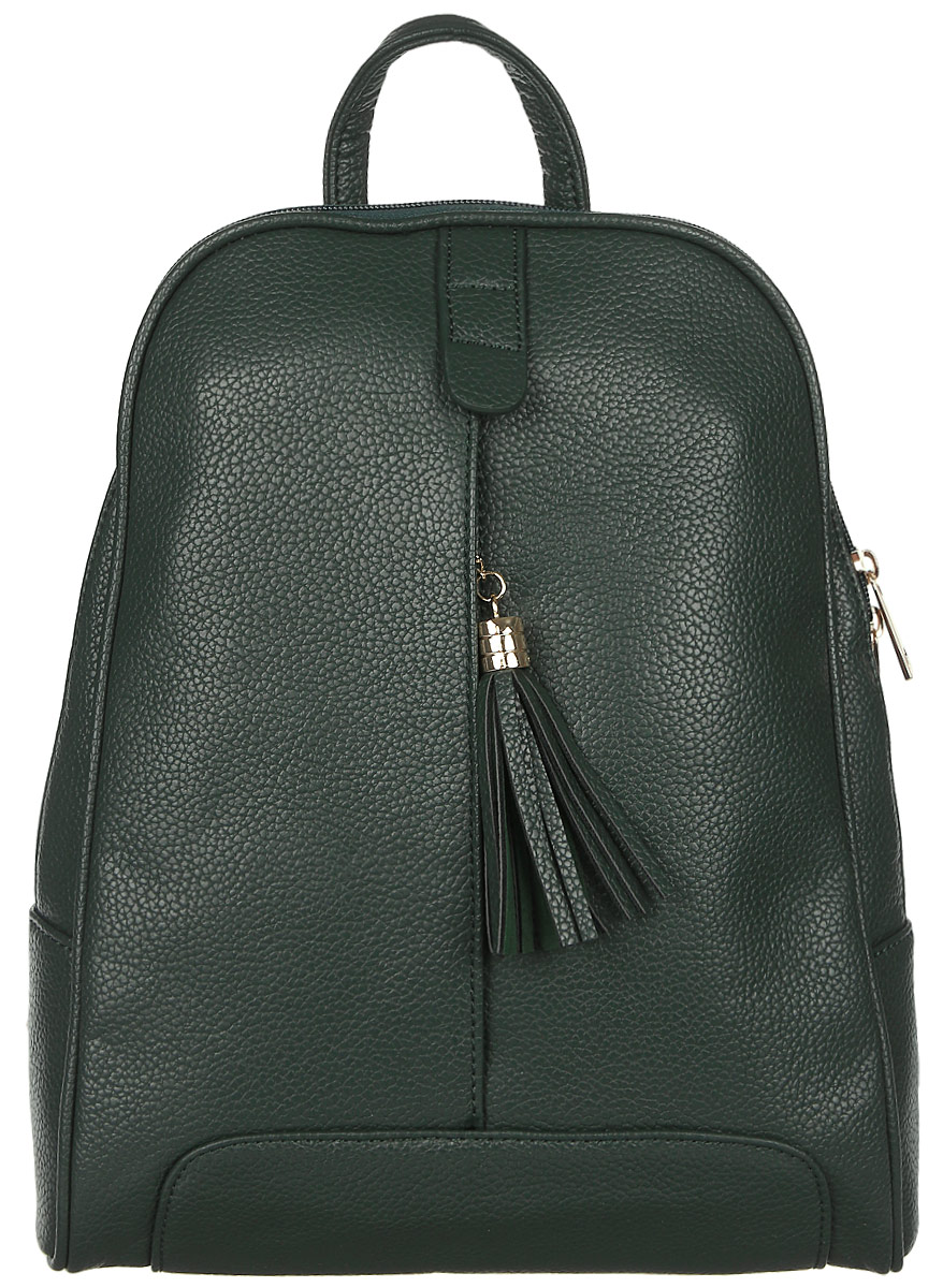 Рюкзак женский DDA, цвет: темно-зеленый. DDA LB-2036DG рюкзак женский cross case цвет зеленый mb 3050