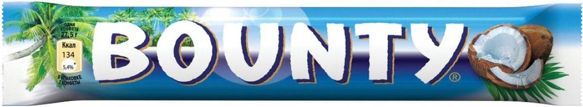 Bounty шоколадный батончик, 55 г bounty trio шоколадный батончик 82 5 г