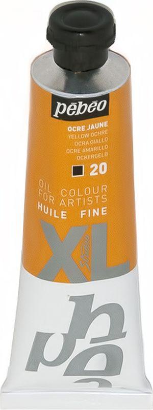 Pebeo Краска масляная XL цвет охра желтая 37 мл