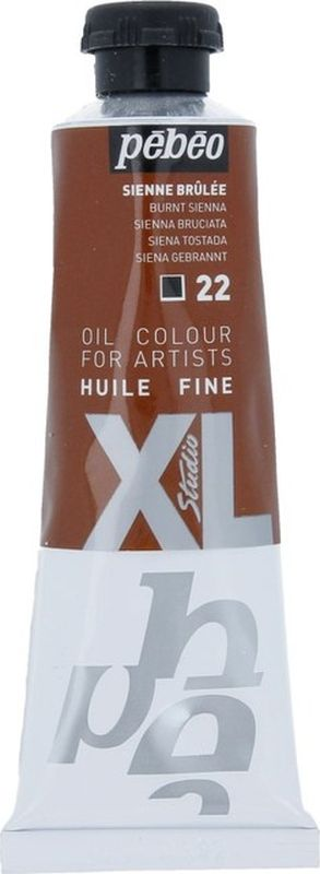 Pebeo Краска масляная XL цвет сиена жженая 37 мл