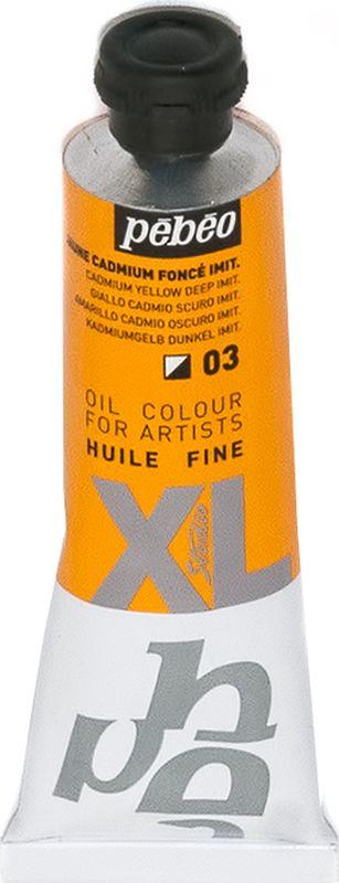 Pebeo Краска масляная XL цвет кадмий темно-желтый 37 мл