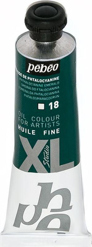 Pebeo Краска масляная XL цвет изумрудный фтало 37 мл