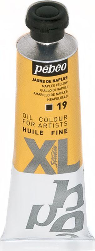 Pebeo Краска масляная XL цвет неаполитанский желтый 37 мл