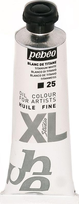Pebeo Краска масляная XL цвет белила титановые 37 мл