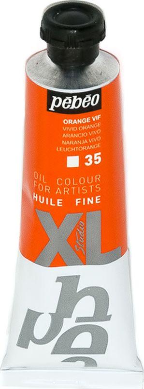 Pebeo Краска масляная XL цвет ярко-оранжевый 37 мл