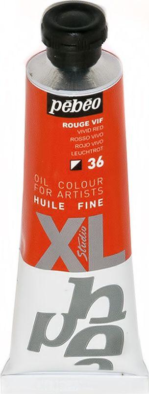 Pebeo Краска масляная XL цвет ярко-красный 37 мл