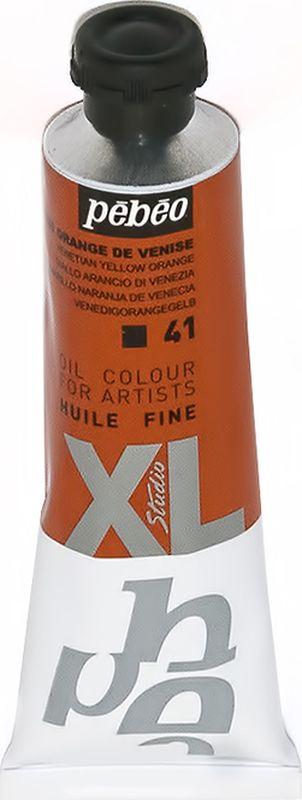 Pebeo Краска масляная XL цвет желто-оранжевый венецианский 37 мл