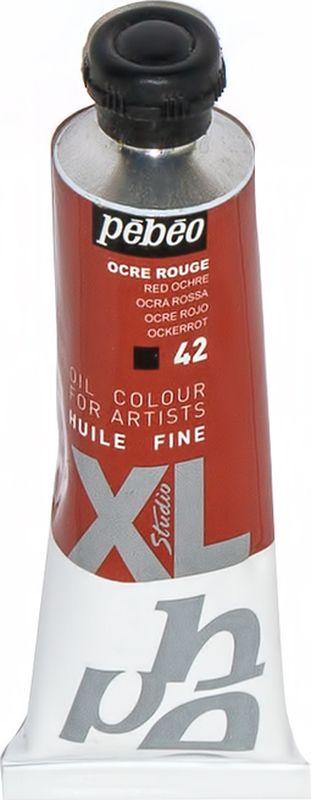 Pebeo Краска масляная XL цвет охра красная 37 мл