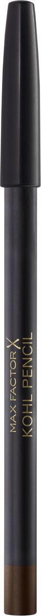 Max Factor Карандаш для глаз Kohl Pencil, тон №030 Brown, цвет: коричневый clarins набор для выразительного взгляда набор для выразительного взгляда